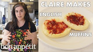 Download Claire Makes BA's Best English Muffins | From the Test Kitchen | Bon Appétit Video