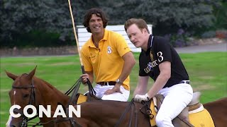 Download Conan Learns To Play Polo - CONAN on TBS Video