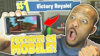 Download EASY SOLO WIN! - FORTNITE MOBILE iOS (Battle Royale) Video