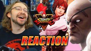 Download MAX REACTS: Sakura, Blanka, Sagat, Cody & More Revealed (Street Fighter V Season 3) Video