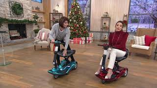 Download EV Rider Easy Move Folding Travel Scooter on QVC Video