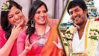 Download When is Vishal's Wedding ? : Varalaxmi Hilarious Interview | Sandakozhi 2 Video