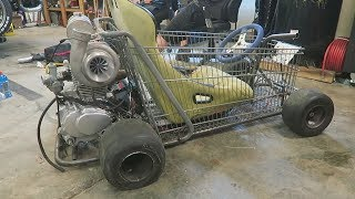 Download New Turbo for the Shopping Go Kart? Video