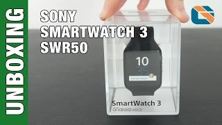 Download Sony Smartwatch 3 SWR50 Unboxing & First Impressions Video