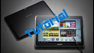 Download Samsung Galaxy Note 10.1 Akku tauschen/ausbauen [Deutsch] Video