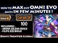 Download Max Out Omni Evolution Units In Few Minutes (Feat. Selena & Eze's Build)(Brave Frontier Global) Video
