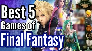 Download Top 5 BEST Final Fantasy games ever made & review: Are my picks... weird? Video