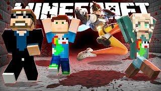 Download Minecraft: OVERWATCH KILLER RUN!! | MODDED MINI-GAME Video