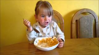 Download Baby eating breakfast - Corn Flakes   AmeliaToys ☺☺☺ Video