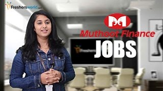 Download Muthoot Finance - Recruitment Notification,Foreign exchange jobs,Exam dates & results Video