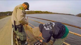 Download WEIRDEST day ever MAGNET FISHING (game warden called) Video