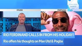 Download Rio Ferdinand on Man Utd's title chances - Saturday Morning Savage Video