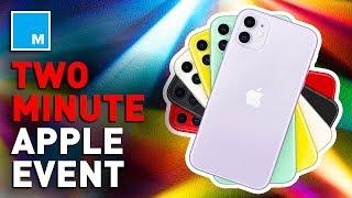 Download Apple Event Recap In 2 Minutes Video