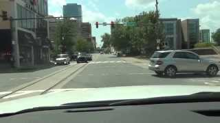 Download Driving in and around Little Rock, Arkansas - POV Video