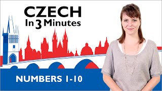 Download Learn Czech - Numbers 1-10 - Czech in Three Minutes Video