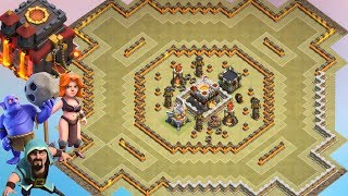 Download Th11 War Base 2017 Anti 1 Star/Anti 2 Star With Replay Anti Bowler Anti Miner Anti Everything Video