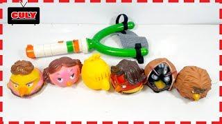 Download Bộ đồ chơi bắn chim Angry Birds Star War toy for kids những chú chim nỗi giận Video