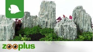 Download Aquarium Dekorations-Set - Glimmer Wood Rock   zooplus Video