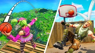 Download *INSANE* 5000 IQ BASKETBALL SHOTS! - Fortnite Fails & Epic Wins #22 (Fortnite Funny Moments) Video