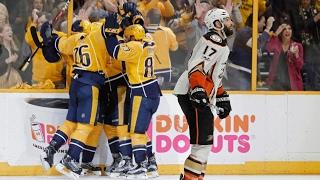 Download Sissons' hat trick helps Predators oust Ducks, reach 1st Stanley Cup Final Video