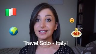 Download Solo Travel Tips - Italy - Blending in and staying safe. Video