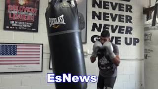 Download Amir Khan Working In Monster Shape - EsNews Boxing Video