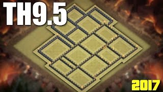 Download Town Hall 9.5 (TH9.5 ) War Base 2017 ♦ NO INFERNO / 3rd X-BOW / 2nd BT | CLASH OF CLANS Video