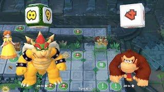 Download Super Mario Party - Domino Ruins Treasure Hunt (Bowser/Donkey Kong vs Bowser Jr/Hammer Bro) Video