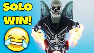 Download HILARIOUS SOLO WIN IN FORTNITE BATTLE ROYALE!! Video
