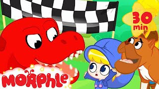Download Dinosaur At The Dog Show - My Magic Pet Morphle | Cartoons For Kids | Morphle TV | BRAND NEW Video