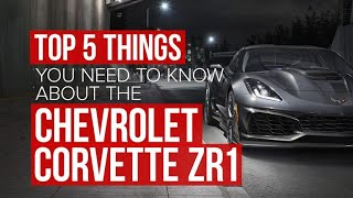 Download 2019 Chevrolet Corvette ZR1: 5 things to know Video