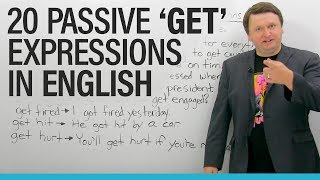 Download Learn 20 passive ″GET″ Expressions in English! Video