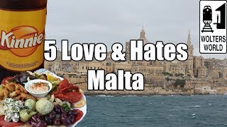 Download Visit Malta - 5 Things You Will Love & Hate about Malta Video