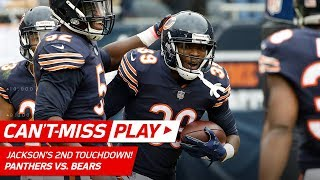 Download Eddie Jackson's 2nd TD of the Game is a Sick Pick 6! | Can't-Miss Play | NFL Wk 7 Highlights Video