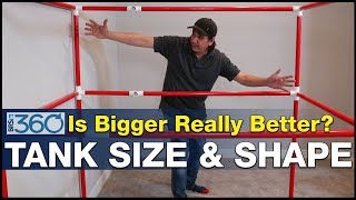 Download Ep.6 - Big Tanks, what's the right size & shape for an epic multi-hundred gallon reef tank? | BRS360 Video