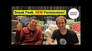 Download SNEAK PEEK: New Permissions Levels! Video