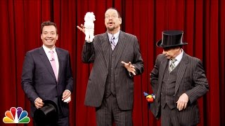 Download Penn and Teller Show Jimmy How to Pull a Rabbit Out of a Hat Video