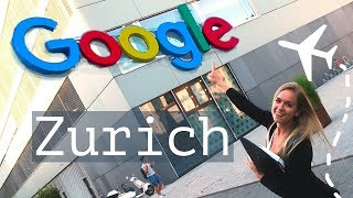 Download Working with YouTube Engineers and UX designer at Google Zurich | Blonde Vlog Video