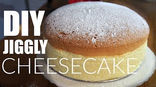 Download DIY JIGGLY Japanese Cotton CHEESECAKE Recipe | You Made What? Video