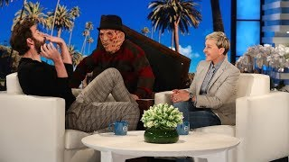 Download John Krasinski Gets a Scare on Ellen's Street Video