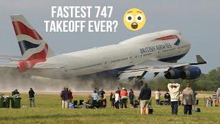 Download FAST TAKEOFF BY BRITISH AIRWAYS 747 Video
