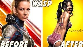 Download Ant-Man and the Wasp ★ Before And After Video