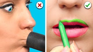 Download 7 Funny and Useful Beauty Hacks Video
