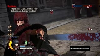 Download Attack on Titan Wings of Freedom Mikasa Gameplay Max Level+Perfected Gear Video