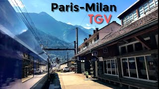 Download PARIS to MILAN by train: Spectacular TGV through the Alps Video