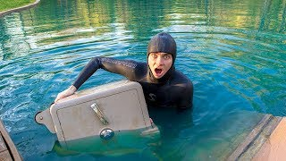 Download SCUBA DIVING FOR MY SAFE!! (I FOUND IT) Video