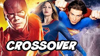 Download The Flash Arrow Supergirl DCTV Smallville Crossover Scene Explained Video