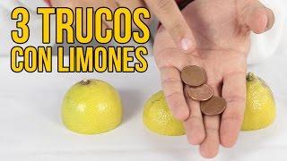 Download 3 INCREÍBLES TRUCOS con limones (Experimentos Caseros) Video