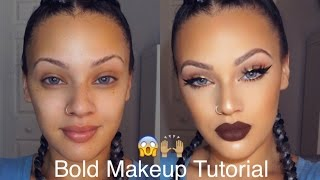 Download Bold Makeup Tutorial   Viva Glam Kay Video