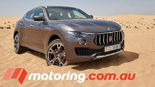 Download 2017 Maserati Levante S Review | motoring.au Video